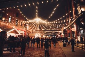 The Toronto Christmas Market in The Distillery District